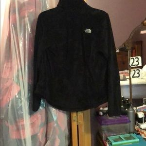 NORTH FACE furry jacket